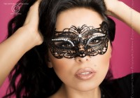 Maske Ornament - Messing