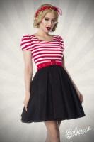 Retro Kleid mit Streifen