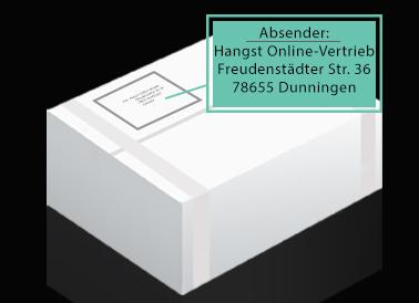 Checkout-Paket-Diskret