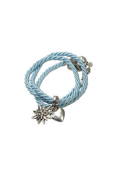 Armband zum wickeln blau