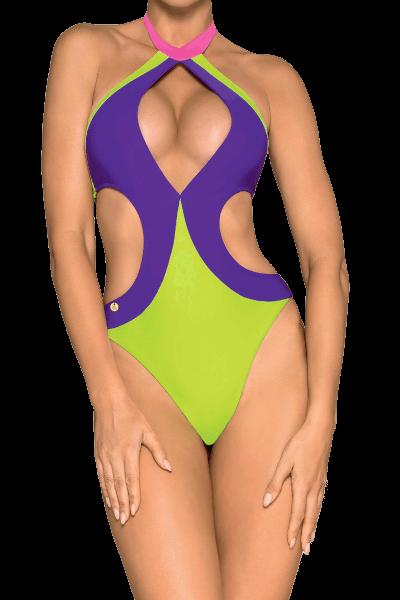 Sexy Badeanzug neon