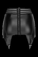 Wetlook Strapsgürtel mit elastischen Bändern