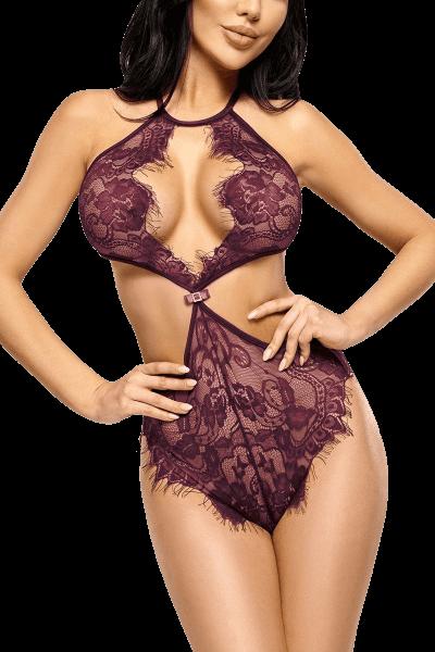 Neckholder Body lila