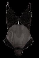 Ouvert Body in schwarz
