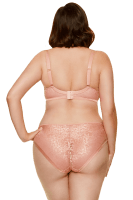 Bügel-BH mit Satindetail in Rosé Plus Size