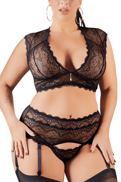 Bralette Set Plus Size