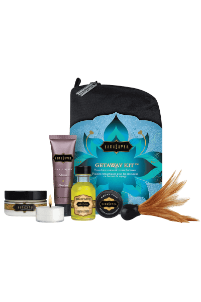 6tlg. Massage Set Getaway Kit (Warenwert 50€) - Kama Sutra