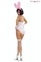 Bunny Kostüm weiß/rosa