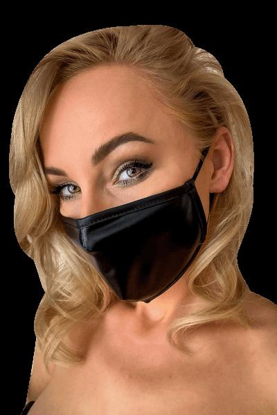 Mund- und Nasen-Maske schwarz