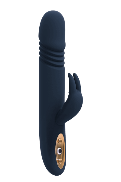 Rabbit Vibrator mit Stoßfunktion - 23cm