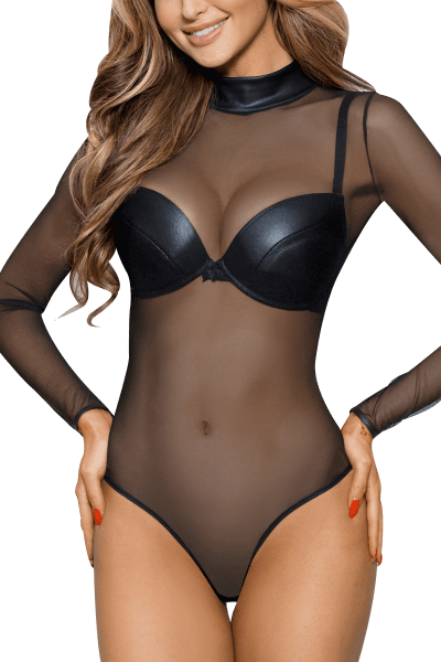 Body transparent schwarz