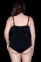 schwarzer Shapewear Body Plus Size