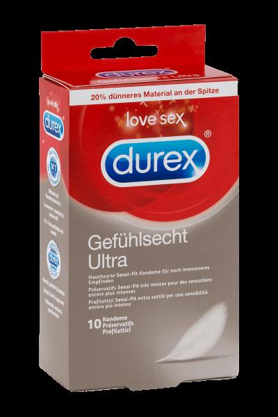 Kondome gefühlsecht - Durex Ultra 10er