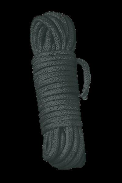Bondage-Seil 3m schwarz - Bad Kitty