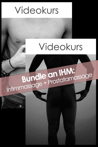 Bundle: Intimmassage an IHM + Prostatamassage