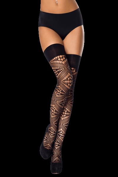 Stockings mit Lochmuster