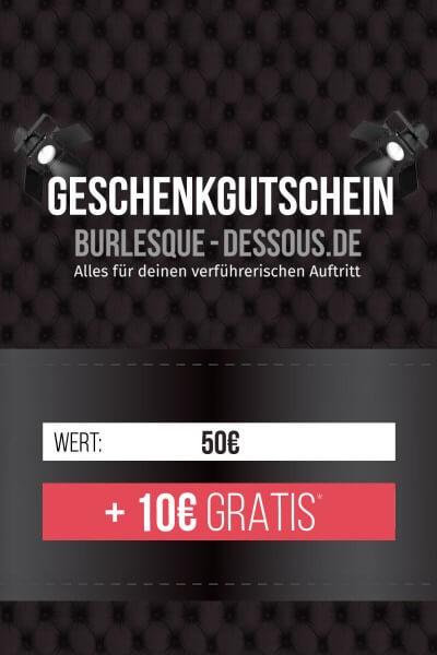 50 € Gutschein per Post