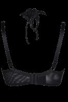 Neckholder-BH Plus Size schwarz