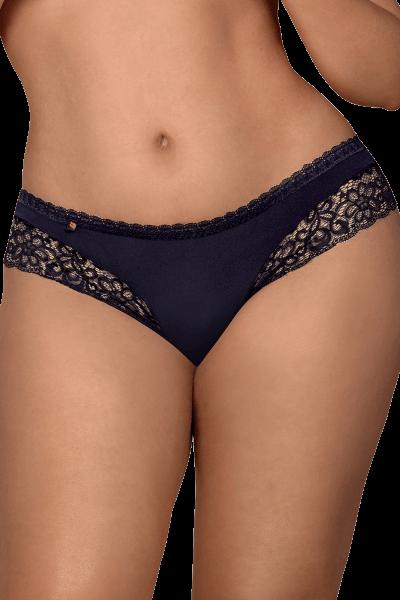 Blaue String-Panty