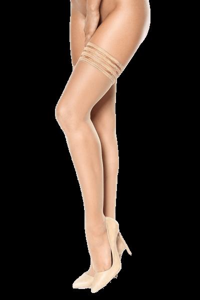 Halterlose Stockings nude