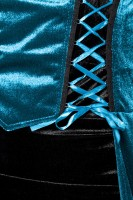 Hexenkostüm Blau