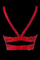 BH mit Bändern rot