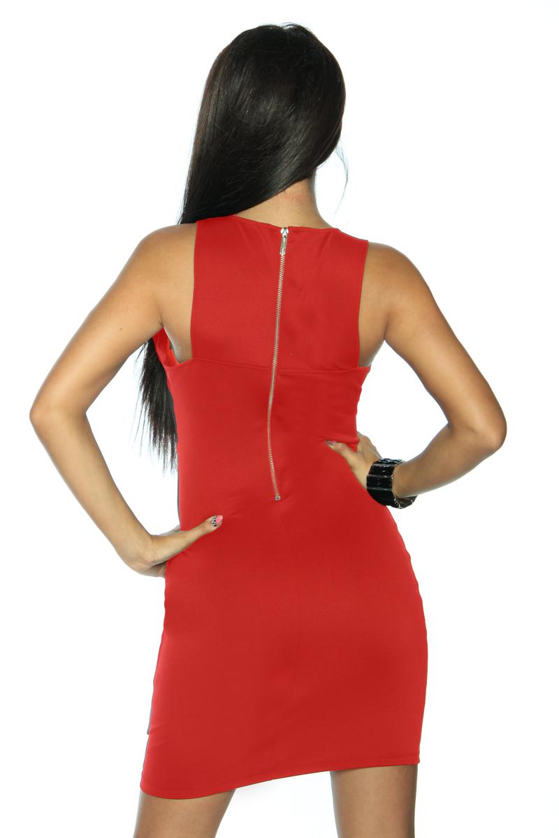 rotes Etui Kleid online kaufen