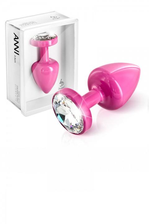 Analplug - ANNI Round T1 pink