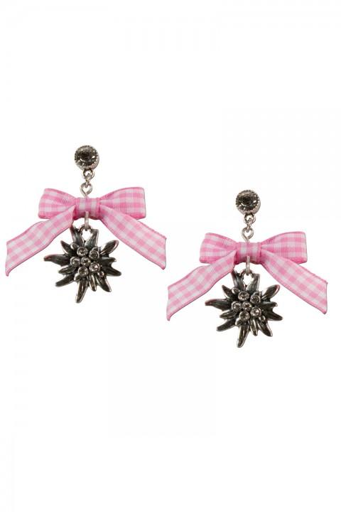 Ohrringe mit rosa Schleife