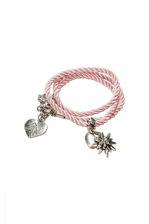 Armband zum wickeln rosa