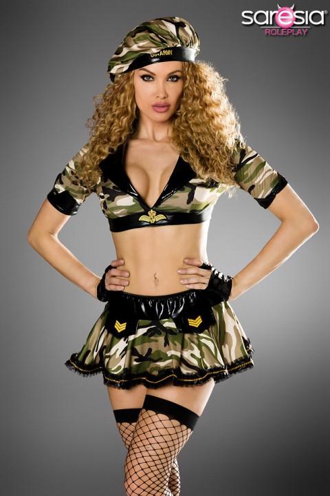 Sexy Army Kostüm