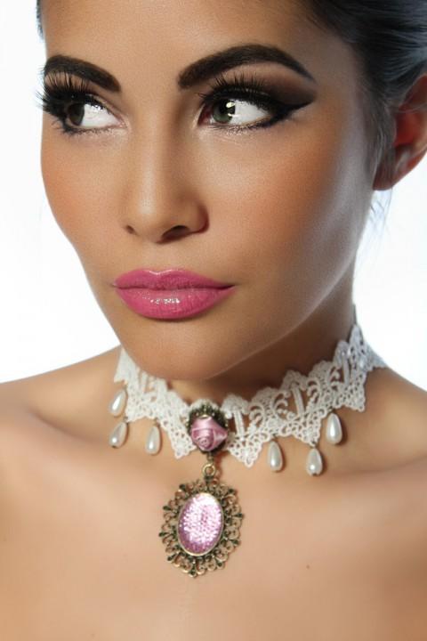 Burlesque Halskette