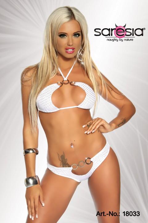 Gogo Bikini weiß/gold