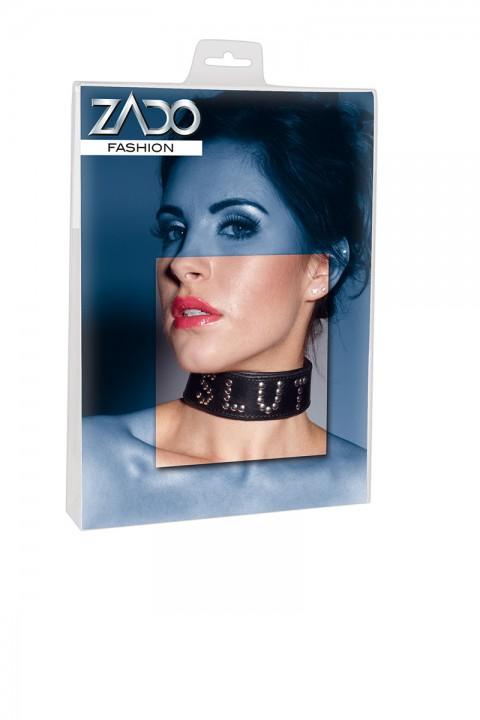 Halsfessel mit Nieten - Zado
