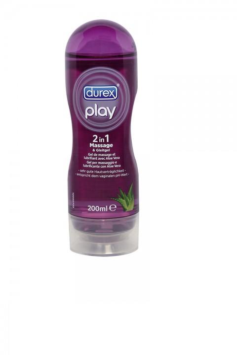 Massage- und Gleitgel - Durex Play 200ml