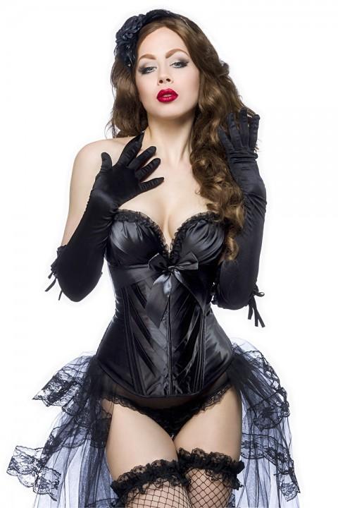 Burlesque Corsage schwarz