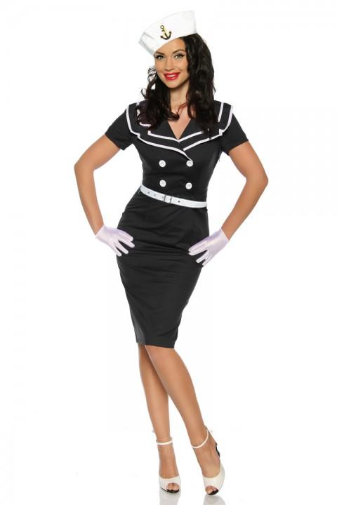 Pin Up Kleid in schwarz